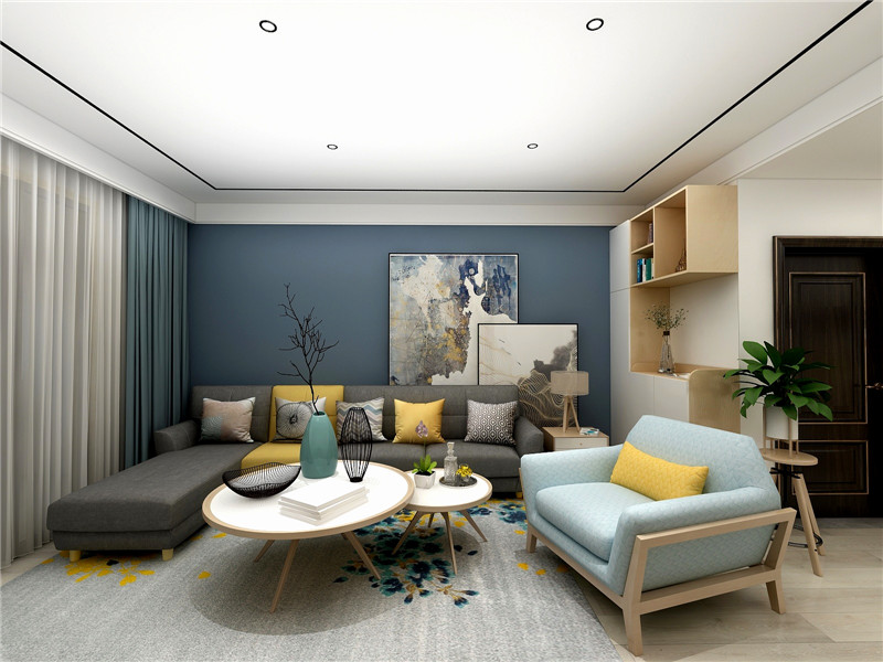 简约文艺范|优秀案例-简单家室内装修在线设计